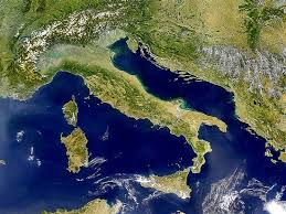 Italia dal satellite