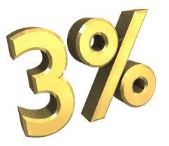 3 per cento Europa