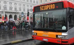 trasporto pubblico sciopero