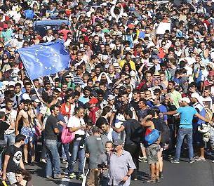 marcia rifugiati