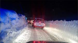 strada bloccata Abruzzo