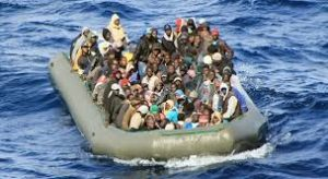 gommone migranti