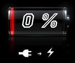 batteria scarica del Pd
