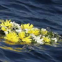 corona di fiori lampedusa