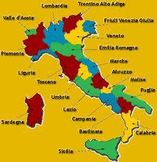 regioni Italia